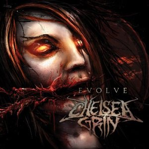 Chelsea Grin - Evolve cover art