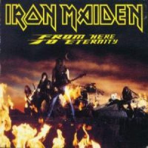 Iron Maiden - From Here to Eternity cover art
