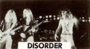 Disorder photo