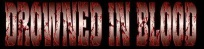 Drowned In Blood logo