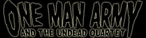 One Man Army and the Undead Quartet logo