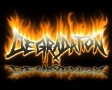 Degradation logo