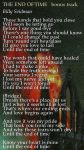 The End Of Time lyrics