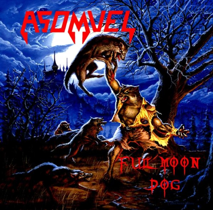 Asomvel - Full Moon Dog [EP] | Metal Kingdom