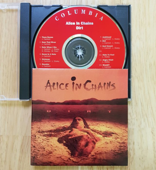 Alice in Chains - Dirt CD Photo
