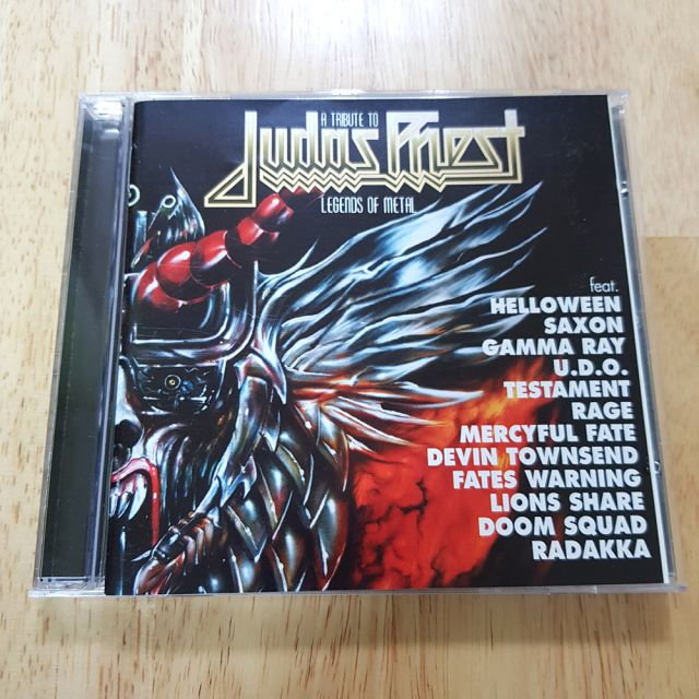 Various Artists - A Tribute to Judas Priest: Legends of Metal CD Photo