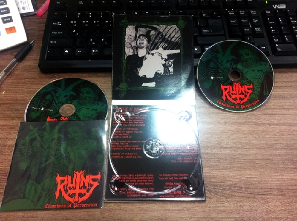Ruins - Chambers of Perversion CD Photo