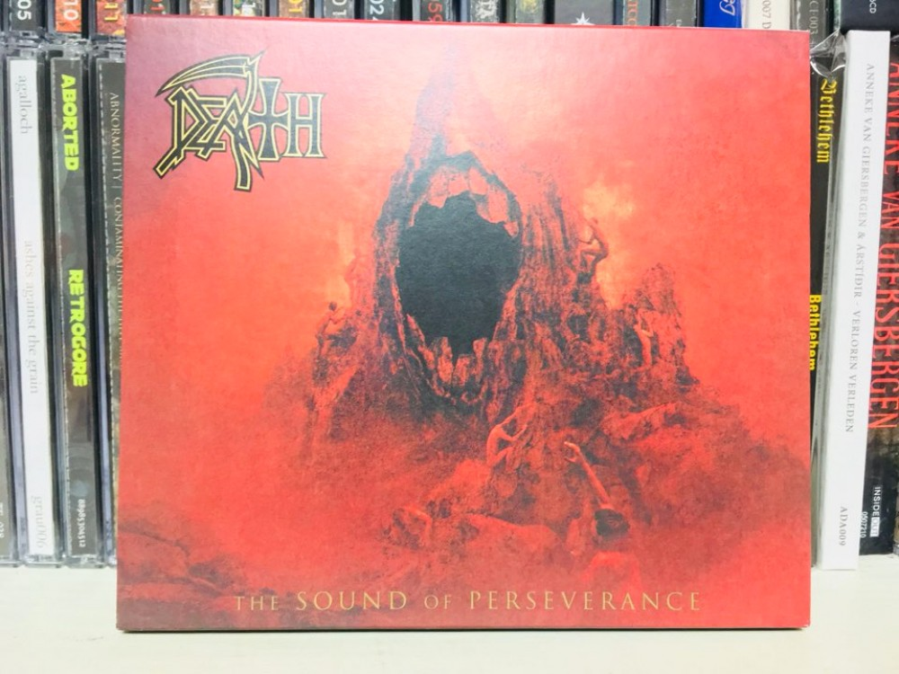 Death - The Sound of Perseverance CD Photo