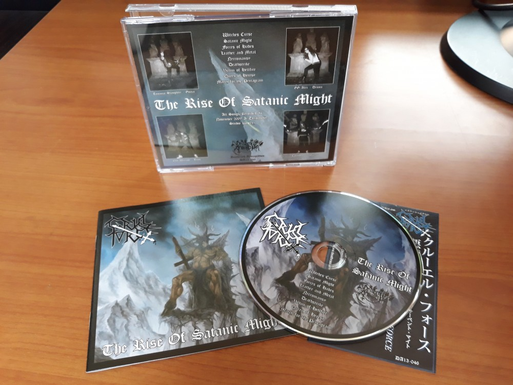 Cruel Force - The Rise of Satanic Might CD Photo