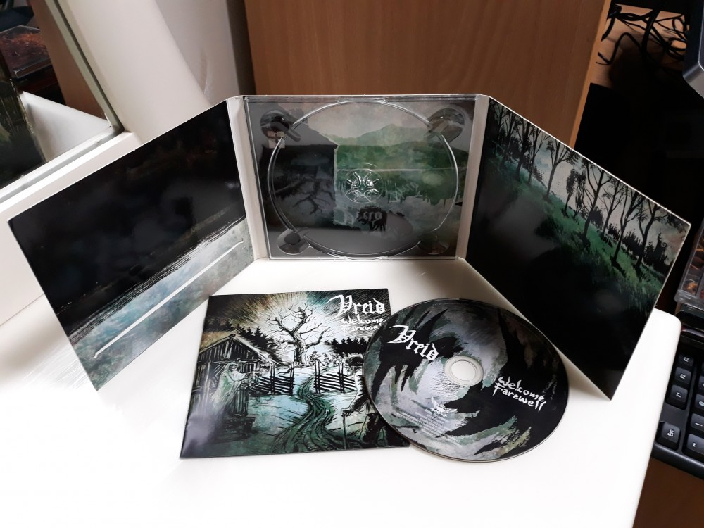 Vreid - Welcome Farewell CD Photo