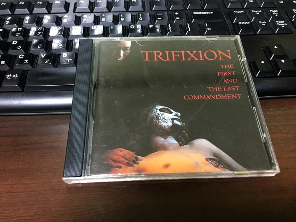 Trifixion - The First and the Last Commandment CD Photo