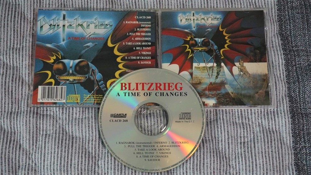 Blitzkrieg - A Time of Changes CD Photo