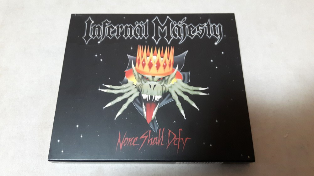 Infernäl Mäjesty - None Shall Defy CD Photo