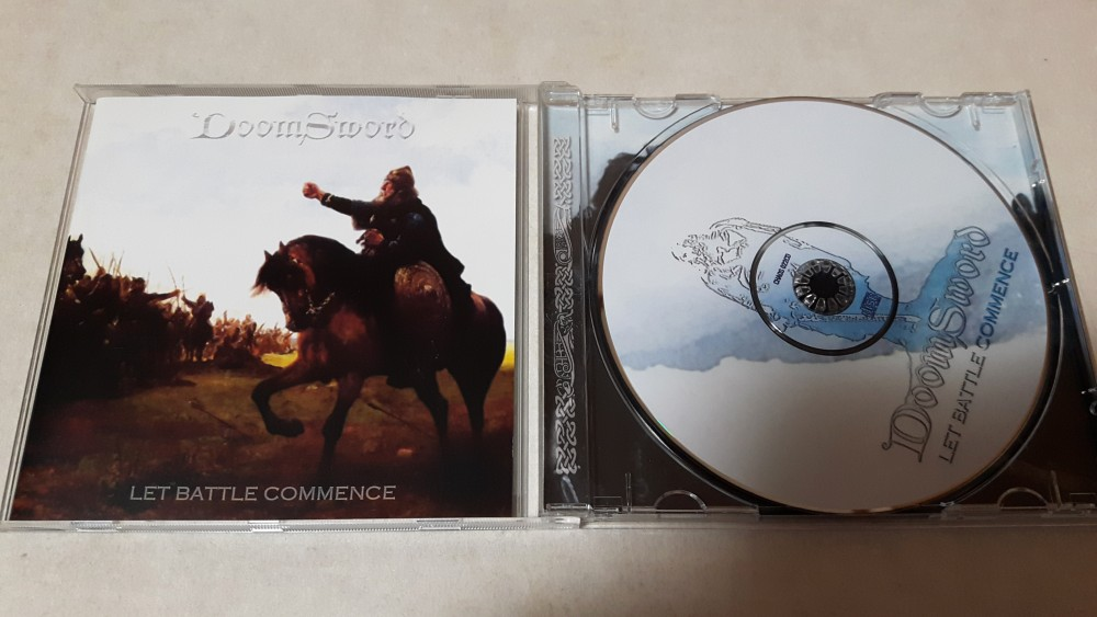 Doomsword - Let Battle Commence CD Photo