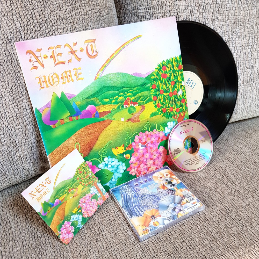 N.EX.T - Home Vinyl, CD Photo