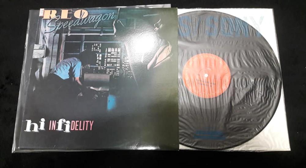 REO Speedwagon - Hi Infidelity Vinyl Photo | Metal Kingdom