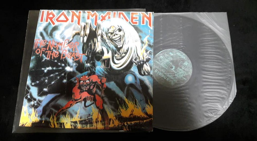 Iron Maiden - The Number of the Beast Vinyl Photo