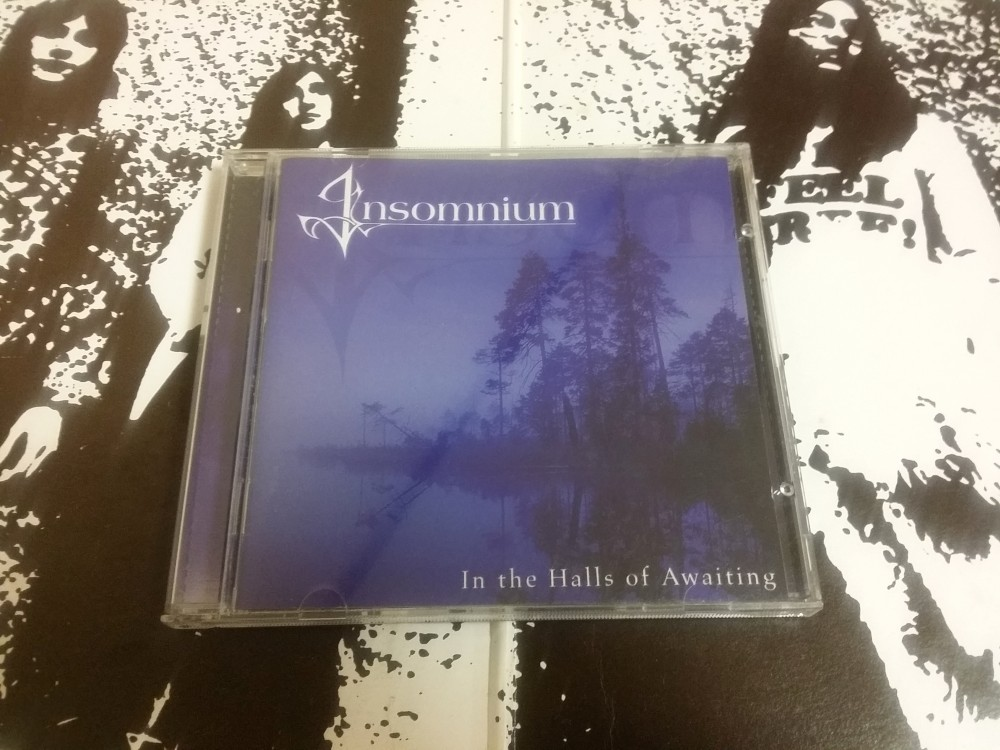 Insomnium - In the Halls of Awaiting CD Photo
