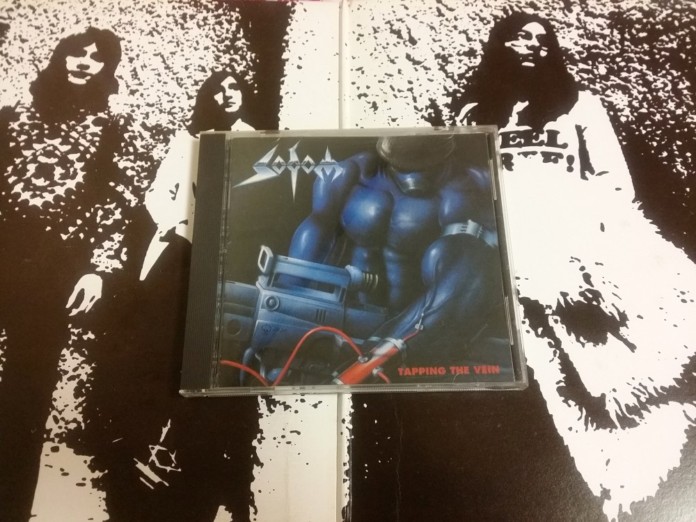 Sodom - Tapping the Vein CD Photo