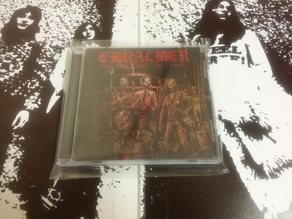 Embalmer - Emanations from the Crypt CD Photo