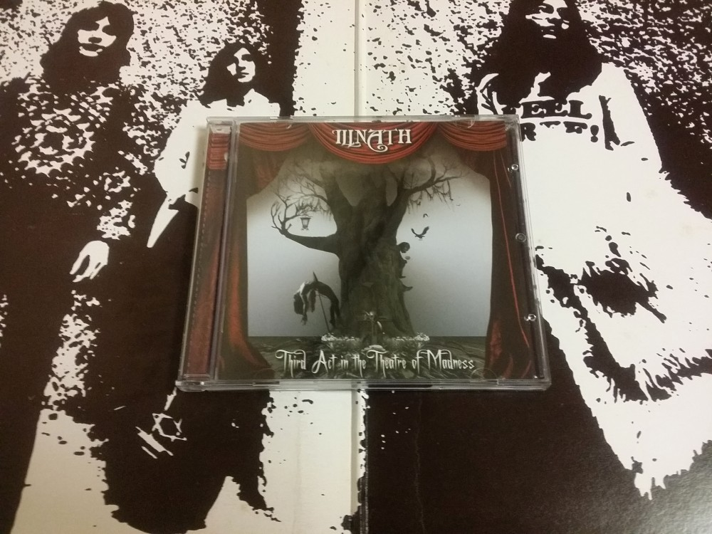 Illnath - Third Act in the Theatre of Madness CD Photo