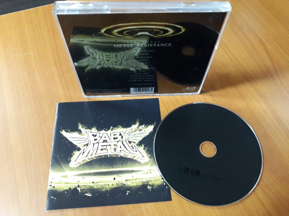 Babymetal - Metal Resistance CD Photo