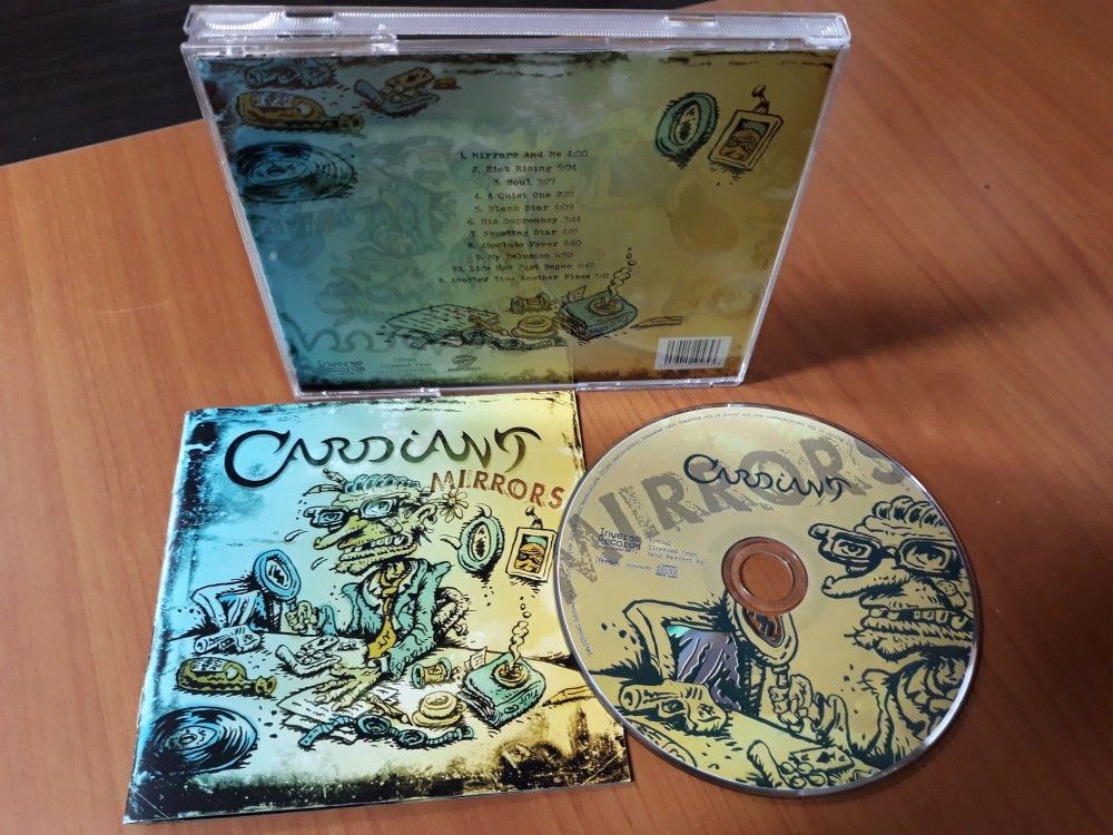 Cardiant - Mirrors CD Photo