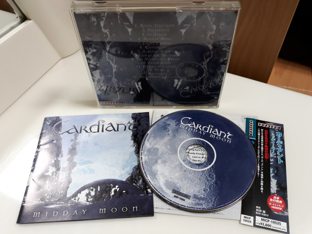 Cardiant - Midday Moon CD Photo