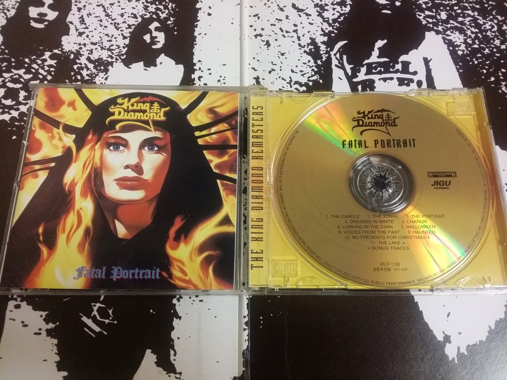 King Diamond - Fatal Portrait CD Photo - Metal Kingdom