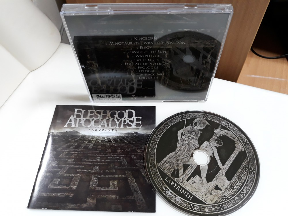 Fleshgod Apocalypse - Labyrinth CD Photo
