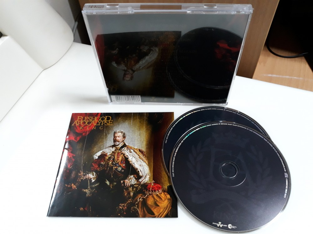 Fleshgod Apocalypse - King CD Photo
