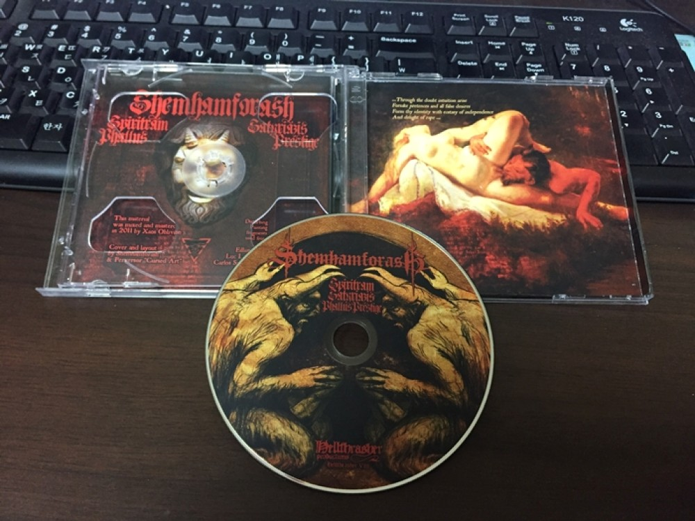 Shemhamforash - Spintriam Satyriazis (Phallus Prestige) CD Photo