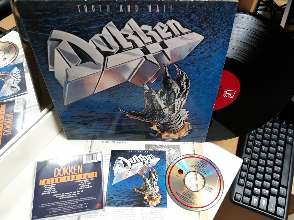 Dokken - Tooth and Nail photo by 신길동옹