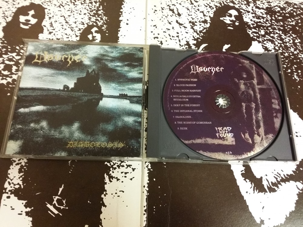 Usurper - Diabolosis CD Photo