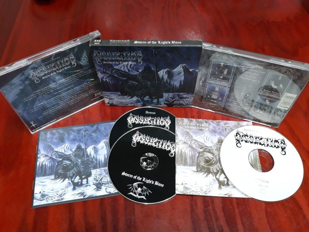 Dissection - Storm of the Light's Bane CD Photo