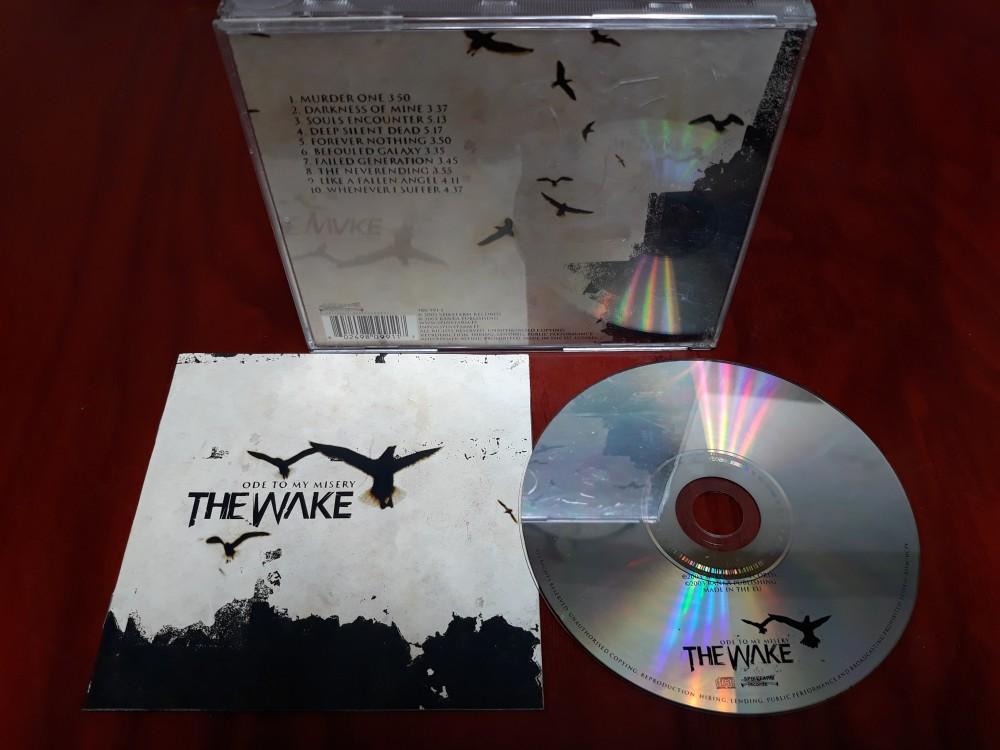 The Wake - Ode to My Misery CD Photo