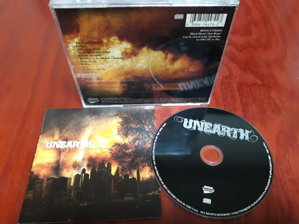 Unearth - The Oncoming Storm CD Photo
