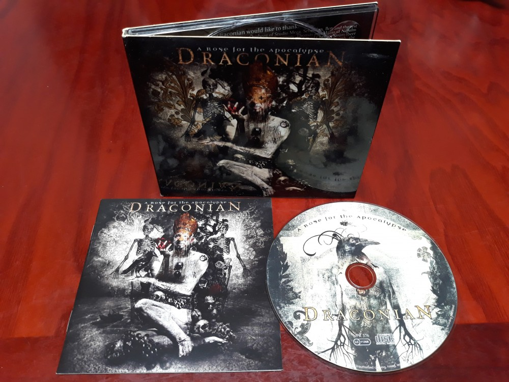 Draconian - A Rose for the Apocalypse CD Photo