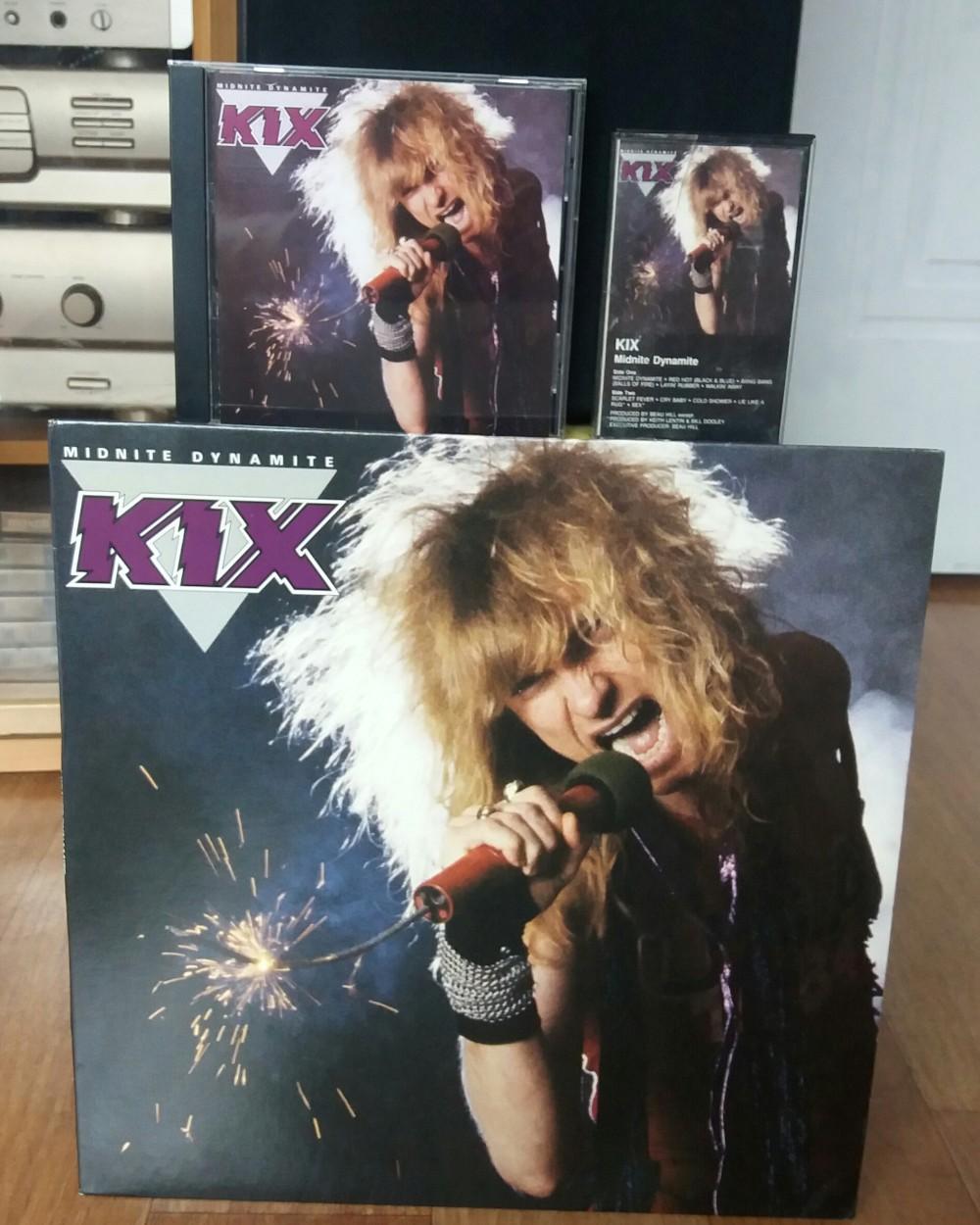 Kix - Midnite Dynamite Vinyl, CD