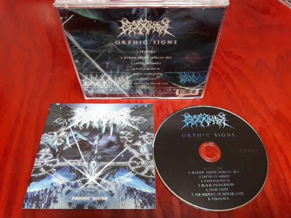 Desecravity - Orphic Signs CD Photo