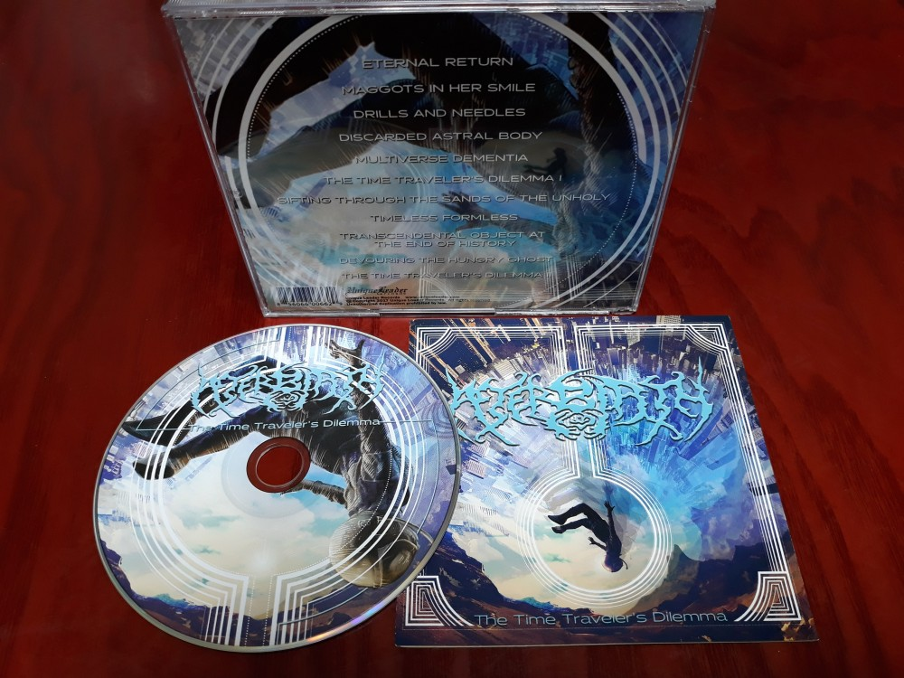Afterbirth - The Time Traveler's Dilemma CD Photo