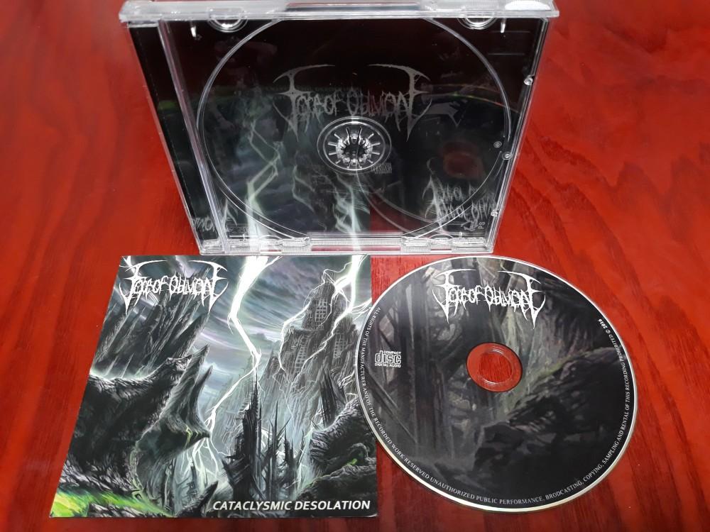 Face Of Oblivion - Cataclysmic Desolation CD Photo | Metal