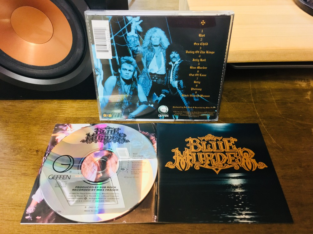 Blue Murder - Blue Murder CD Photo