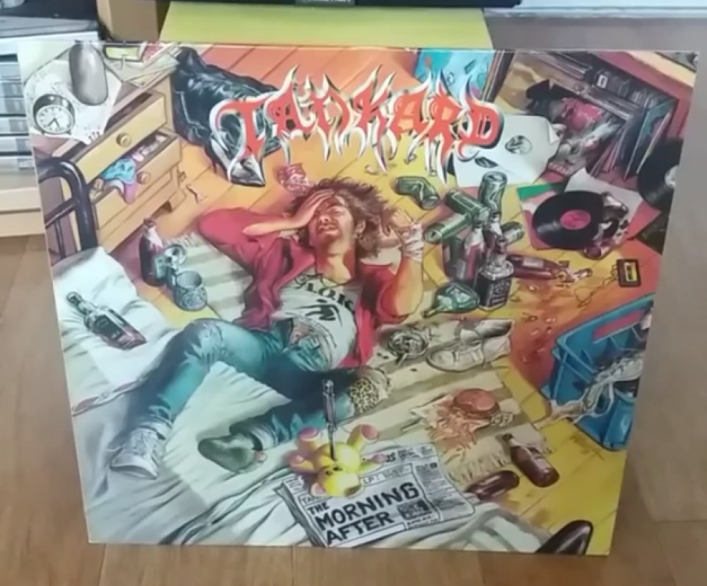 Tankard - The Morning After Vinyl Photo
