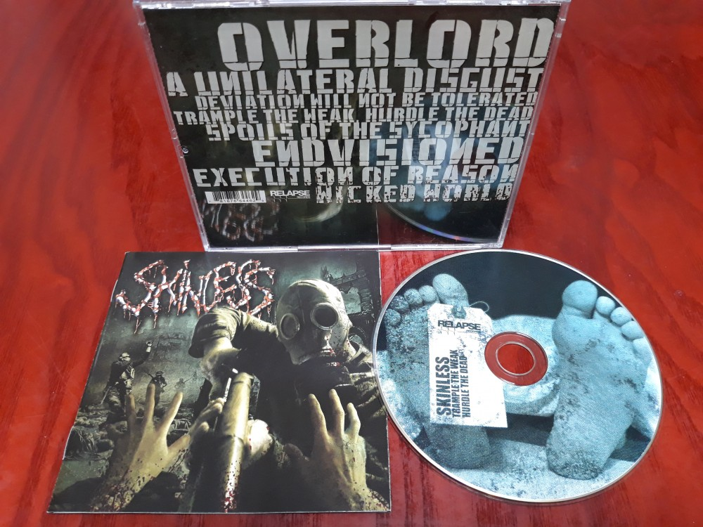 Skinless - Trample the Weak, Hurdle the Dead CD Photo