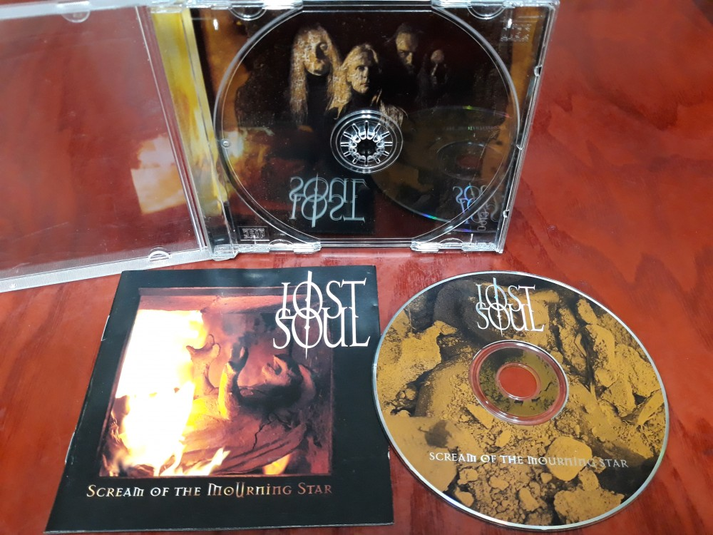 Lost Soul - Scream of the Mourning Star CD Photo