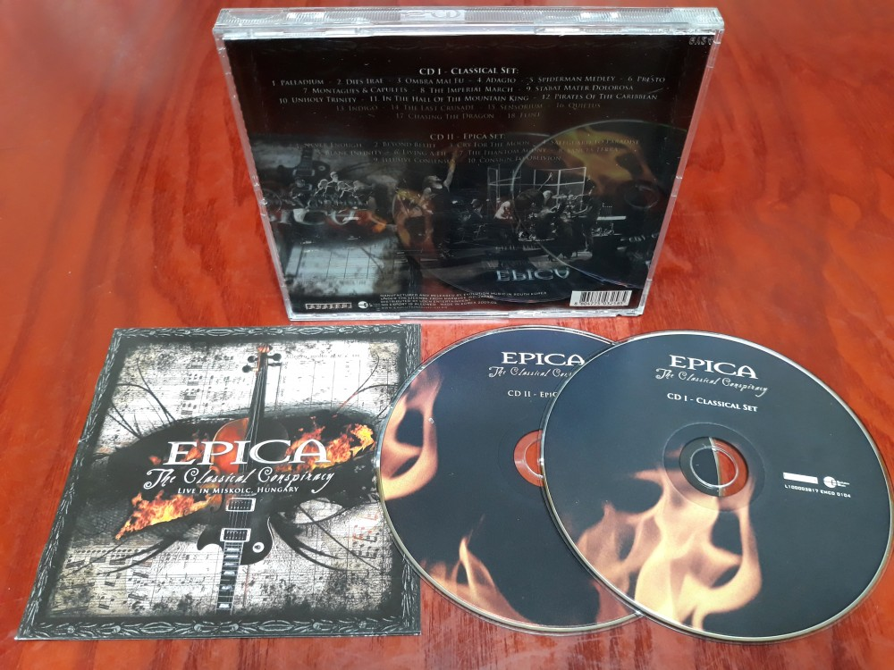 dvd epica the classical conspiracy