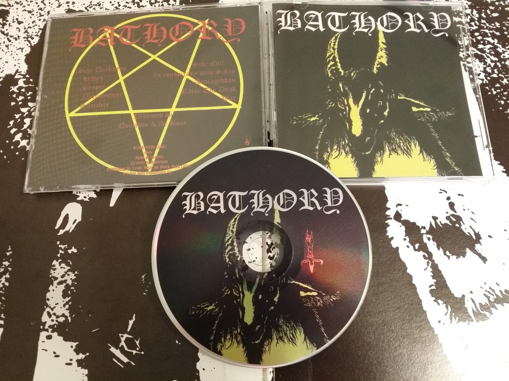Bathory - Bathory CD Photo