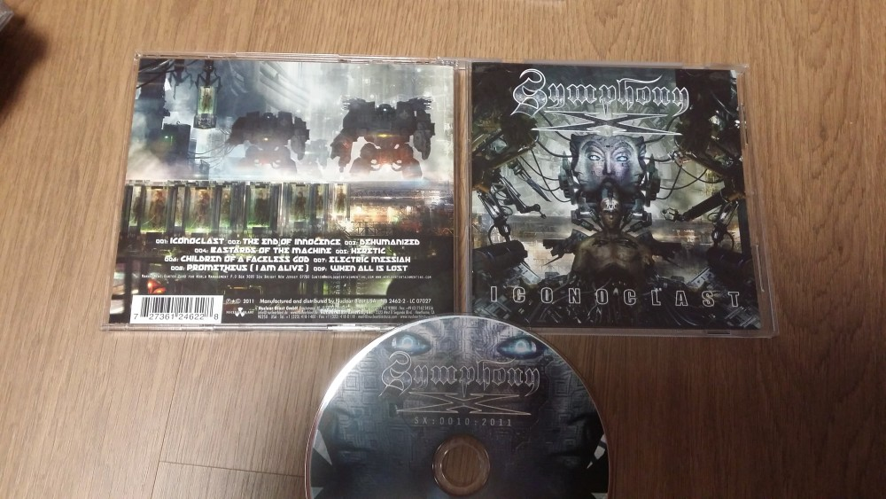 Symphony X - Iconoclast CD Photo