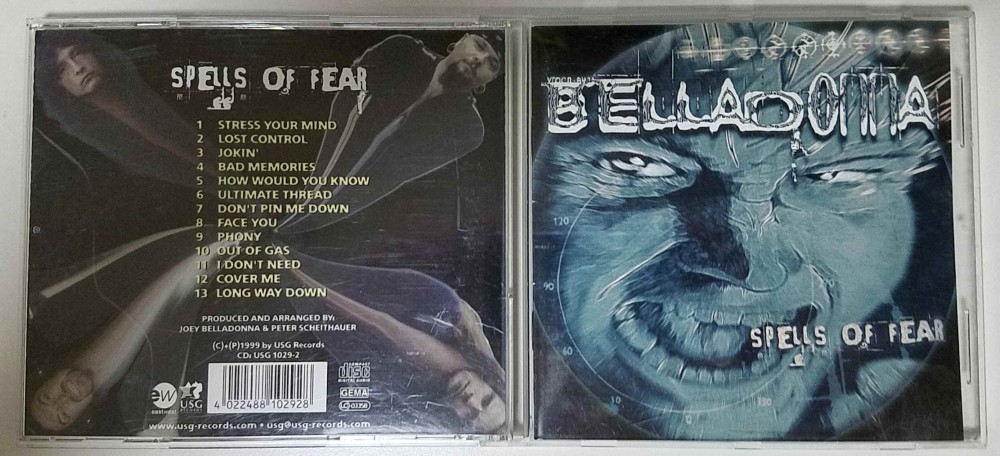 Belladonna - Spells of Fear CD Photo